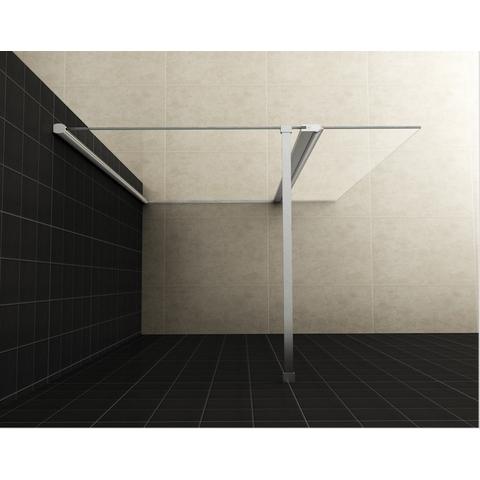Wiesbaden Comfort inloopdouche 90cm met draaibare zijwand 40cm