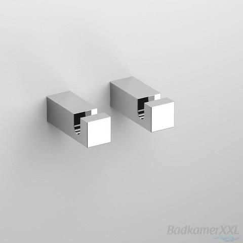 Clou Quadria toilet accessoires set chroom