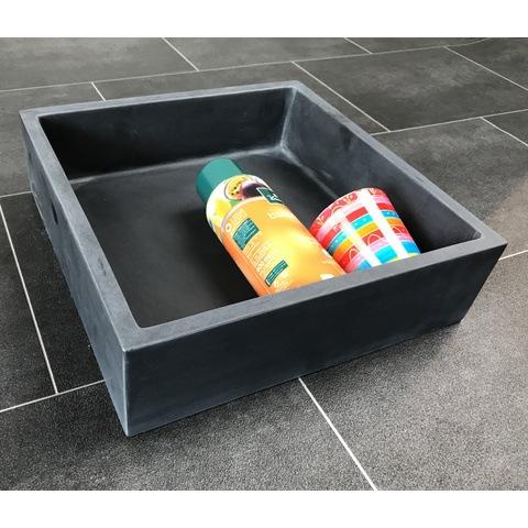 Luca inbouw/opbouw nis 29,5x29,5 cm mat antraciet