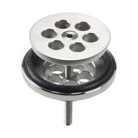 Clou Mini Wash Me plug voor siliconen waterstop rvs geborsteld