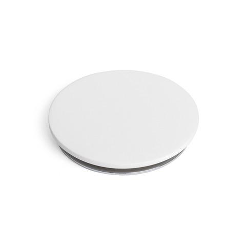 Ideavit wastafelplug afsluitbaar vlak oppervlak - mat wit