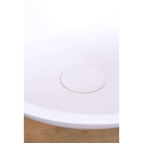 Ideavit Solidfox opzetwastafel rond 35cm mat wit