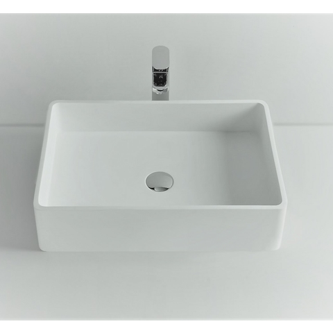 Ideavit Solidtop opzetwastafel 60x40 cm mat wit