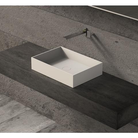 Ideavit Solidjoy-50 opzetwastafel 50x35 cm mat wit