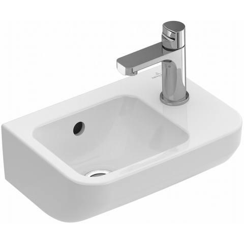 Villeroy & Boch Architectura fontein 36x26 cm met kraangat met overloop CeramicPlus wit