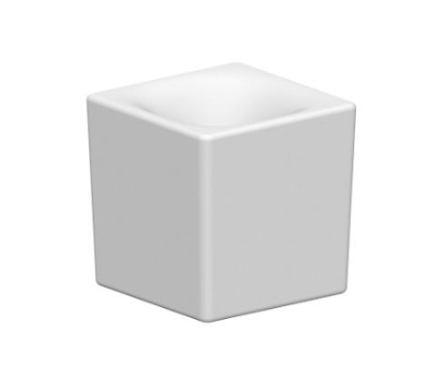 Blinq Merga opzetfontein 24x24 cm. zonder kraangat wit