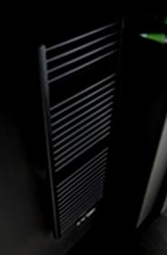 Instamat Rondo Lux badkamerradiator 181 x 50,7 cm (H x L) soft zwart