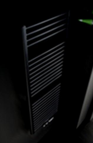 Instamat Rondo Lux badkamerradiator 121 x 50,7 cm (H x L) soft zwart