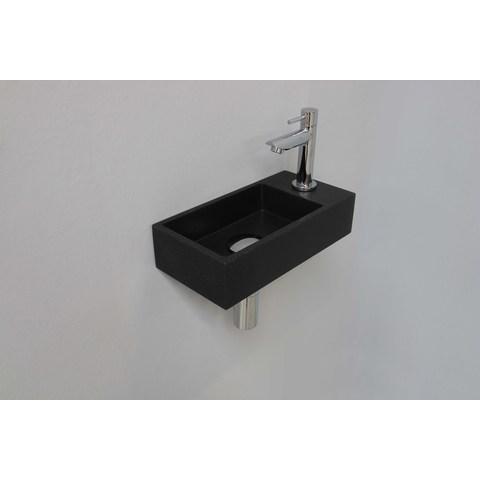 Ink Versus fonteinpack - rechts - quartz zwart - toebehoren chroom
