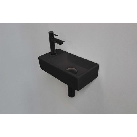 Ink Versus fonteinpack - links - porselein mat zwart - toebehoren mat zwart