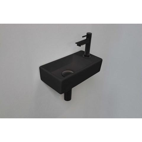 Ink Versus fonteinpack - rechts - porselein mat zwart - toebehoren mat zwart
