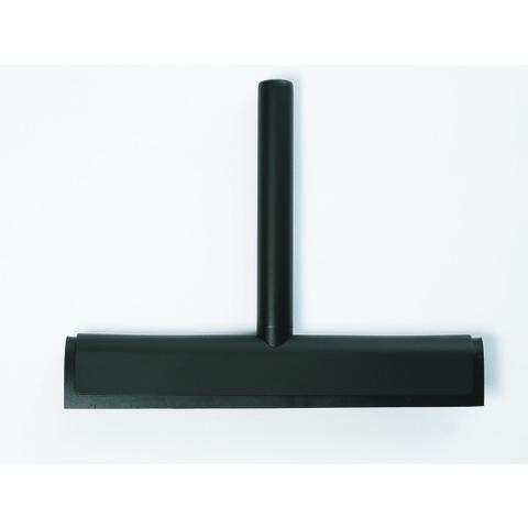 Luca Sanitair  luca wandwisser met ophanghaakje mat zwart 25x20h cm mat zwart