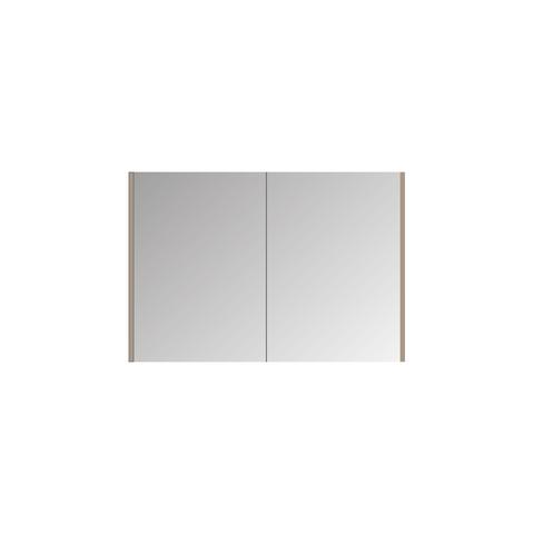 Bewonen Xcellent Spiegelkast - Raw oak - 100x14cm (bxd)