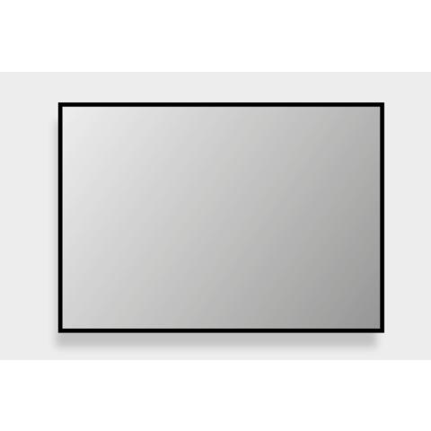 Bewonen Framed spiegel met zwarte rand omlijsting - 100x60cm