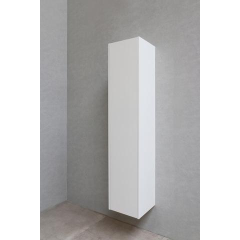 Bewonen P2O hoge kast 1 deur push-to-open - Mat wit - 169x35x35cm