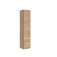 Bewonen P2O Hoge kast 1 deur push 2 open inclusief 4 glazen planchettes - Ideal oak - 35x35cm (bxd)