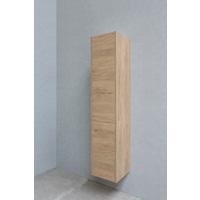 Bewonen P2O hoge kast 1 deur push-to-open - Ideal oak - 169x35x35cm
