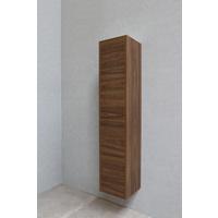 Bewonen P2O hoge kast 1 deur push-to-open - Cabana oak - 169x35x35cm