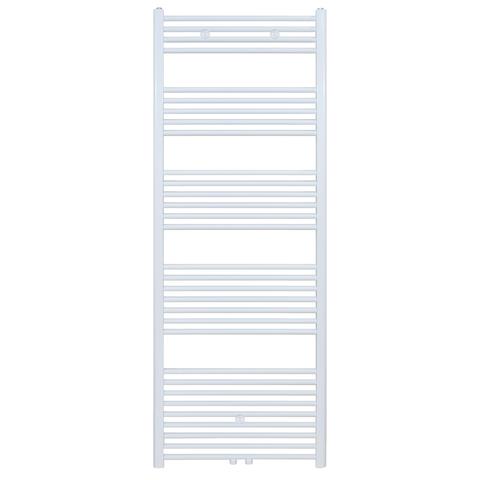 Bewonen Alento Handdoek radiator midden aansluiting wit 1800x600-1275w