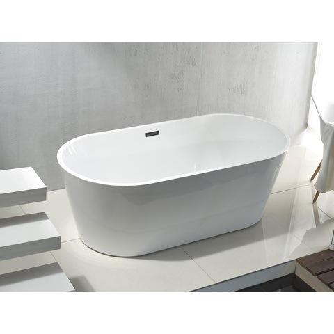 Bewonen Rondo vrijstaand bad acryl 180x80cm ovaal wit