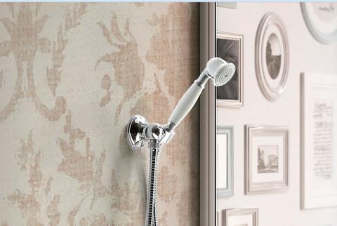 Hotbath IBS 6 inbouw doucheset Amice 2 stopkranen chroom - plafondbuis 15cm