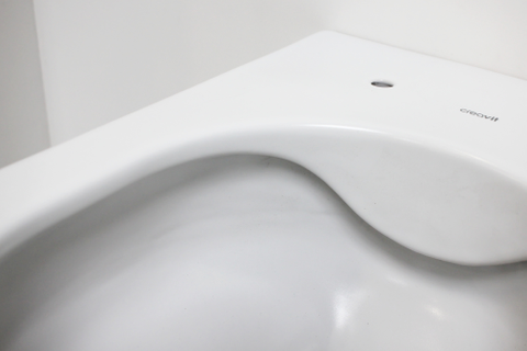 Bewonen Alento hangtoilet Rimless mat wit - met Softclose zitting