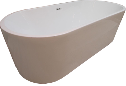 Bewonen Legend  vrijstaand bad 178x78cm acryl wit