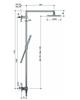 Hotbath SDS 4 Get Together stortdoucheset Bloke chroom - hoofddouche vierkant 30cm