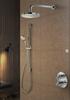 Hotbath IBS 3A Get Together inbouw doucheset Chap chroom - met staafhanddouche - plafondbuis 15cm - hoofddouche 20cm - glijstang