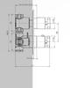 Hotbath IBS 3A Get Together inbouw doucheset Chap geborsteld nikkel - met ronde 3-standen handdouche - wandarm - hoofddouche 25cm - glijstang