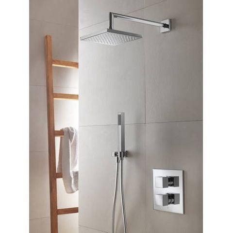 Hotbath IBS 4A Get Together inbouw doucheset Bloke chroom - plafondbuis 15cm - hoofddouche 20cm