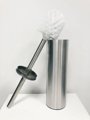 Wiesbaden Brush toiletborstelhouder staand RVS 304