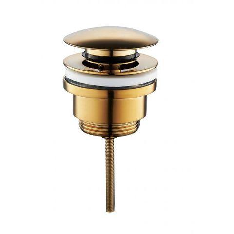 Wiesbaden Caral luxe klikplug 5/4 laag model geborsteld messing PVD