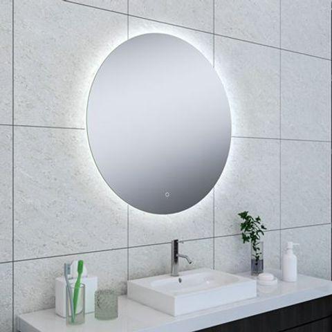 Wiesbaden Soul spiegel rond 80cm met indirecte verlichting rondom