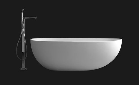 Ideavit Solid Surf vrijstaand solid surface bad 180x90cm