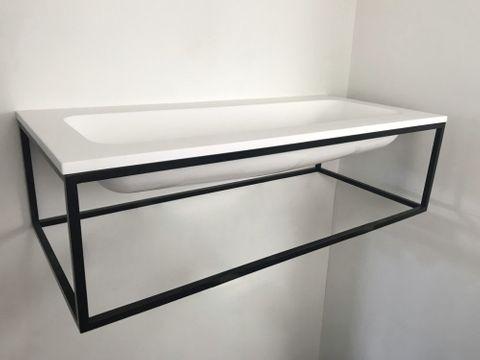 Ink Ferro/Faktor badmeubel 100cm met frame