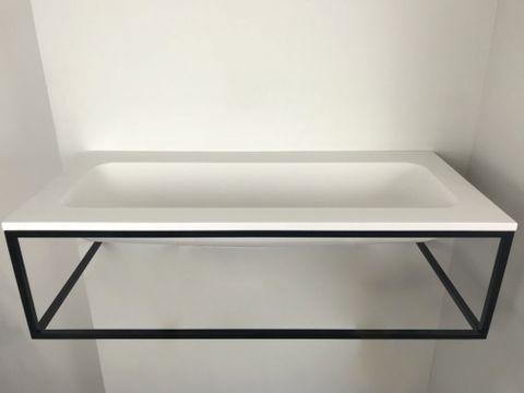 Ink Ferro/Faktor badmeubel 120cm met frame