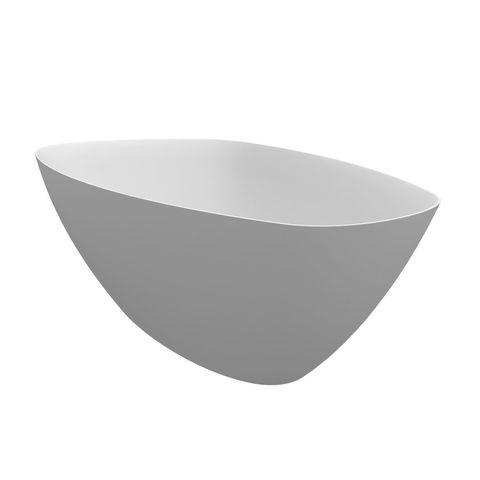 Riho Toledo Solid surface vrijstaand bad 158x110 cm