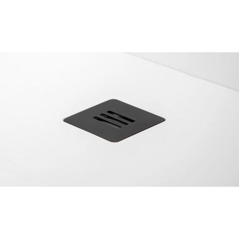 Riho Velvet sole afvoer afdekplaat mat zwart