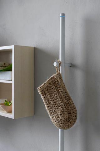 Instamat Jay elektrische handdoekdroger 175 cm mat wit
