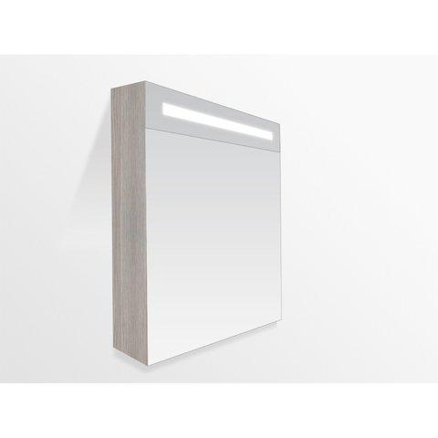 Bewonen Double Face spiegelkast met led verlichting 60cm