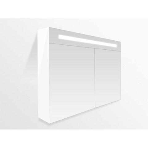 Bewonen Double Face spiegelkast met led verlichting 80cm