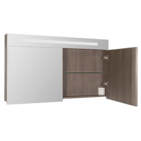 Bewonen 2.0 spiegelkast met led verlichting 120cm