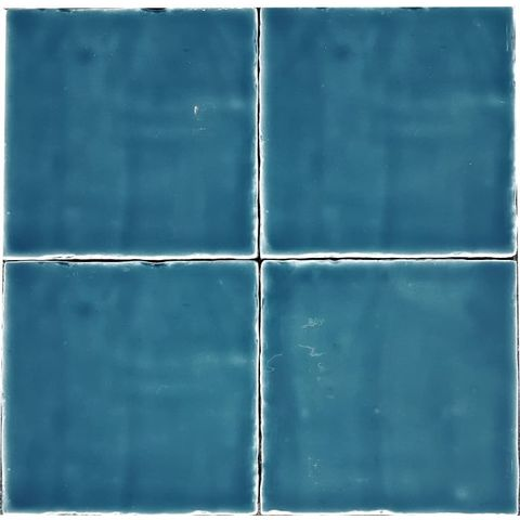 Jabo Oud hollandse Witjes tegel 13 x 13 cm Sea blue (60 stuks)