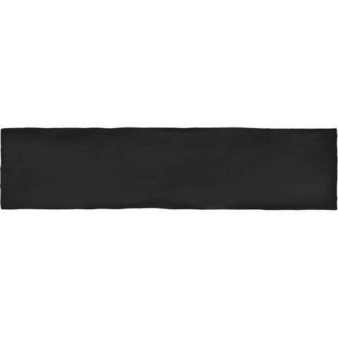 Cifre Colonial wandtegel 7,5x30 cm black mat (22 stuks)