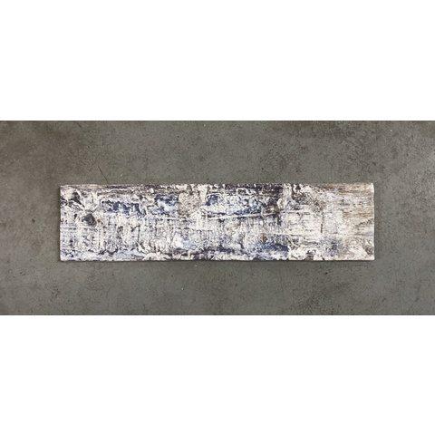 Cifre Colonial wandtegel 7,5x30 - Wood White mat