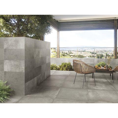 Baldocer Grafton tegel 80x80 - Grey