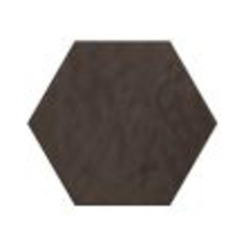 Cifre Vodevil hexagon 17,5 x 17,5 cm Antracite glanzend (37 stuks)