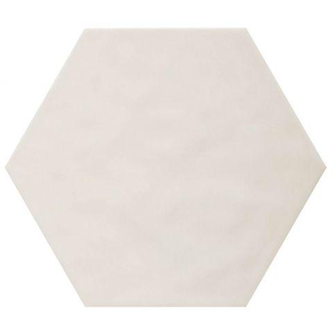Cifre Vodevil hexagon 17,5 x 17,5 cm Ivory glanzend (37 stuks)