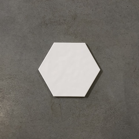 Cifre Vodevil hexagon tegel 17,5x17,5 - White
